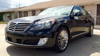 2015 Hyundai Equus Ultimate Full Review Exhaust Test Drive Start Up смотреть