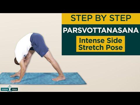 Parsvottanasana (Intense Side Stretch Pose) Benefits, How to Do by Yogi Tara Siddhi Yoga