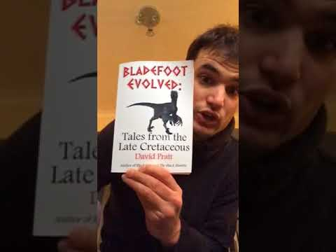 Bladefoot Evolved - Tales from the Late Cretaceous by David Pratt OUT NOW on Amazon and Lulu!