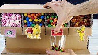 Süßigkeitenspender aus Pappe wird zu Party-Hit!