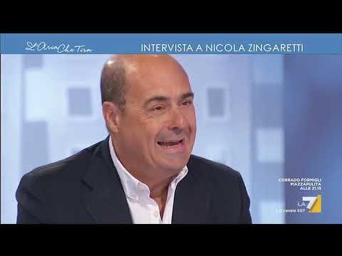 """Nicola Zingaretti: """"In queste ore si stanno iscrivendo al PD centinaia di persone, dalla ..."""