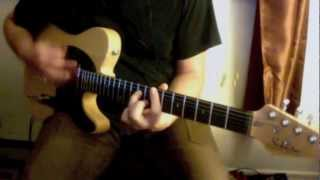 The Rolling Stones - Doom and Gloom cover - Schecter Diamond PTS Telecaster - Fulltone OCD