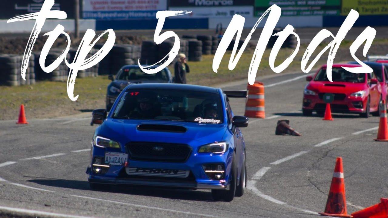 Top 5 Performance Mods: 2015-2017 Subaru WRX