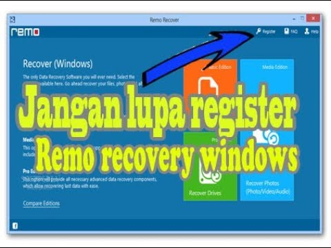registration key for remo recover