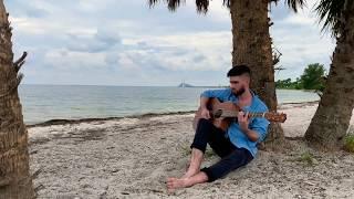 High Tide Koa Acoustic Guitar music| Luna Guitars
