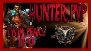 Wow Legion - MM Hunter PVP - Twin Peaks 17-0