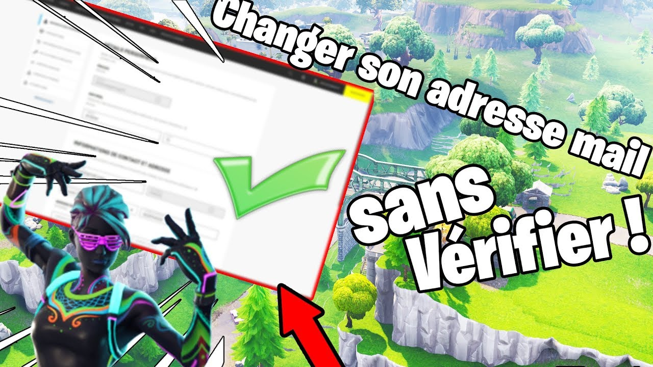 changer adresse mail epic game