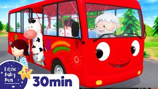 Wheels On The Bus Song! | +More Nursery Rhymes & Kids Songs | ABCs and 123s | Little Baby Bum