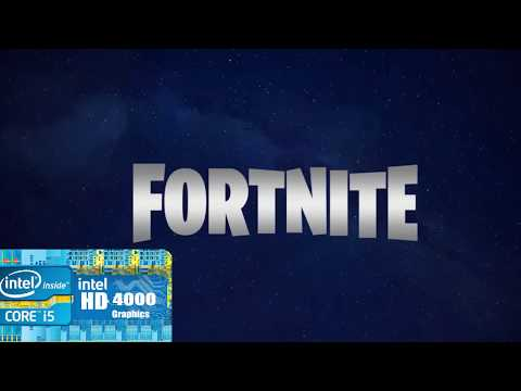 Fortnite on Intel Hd graphics 4000 | Gaming on Old Business Laptop