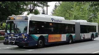 Sound Transit 2013 New Flyer D60LFR 9811 on Rt 554