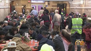 Bowery Mission Serves Needy New Yorkers On Thanksgiving
