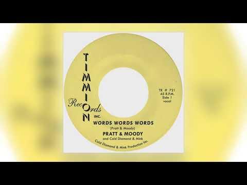 Pratt & Moody - Words Words Words (Vocal) [feat. Cold Diamond & Mink] [Audio] (1 of 2)