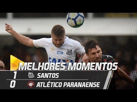 Santos 1 x 0 Atlético Paranaense | MELHORES MOMENTOS | Brasileirão (30/09/18)
