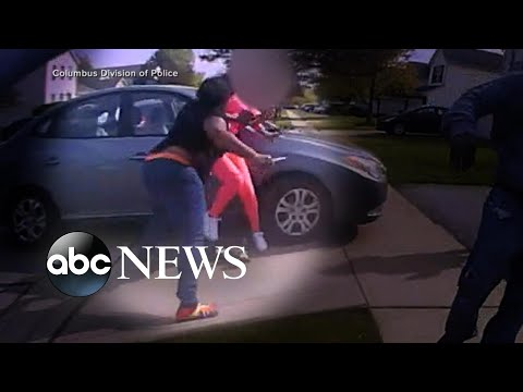 New video shows Columbus police shooting of teenager Ma'Khia Bryant