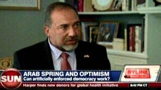 "Brian Lilley Interviews Israeli Foreign Minister Avigdor Lieberman On ""Palestinian Statehood"""
