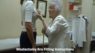 Repeat youtube video Mastectomy Bra Fitting Instructions