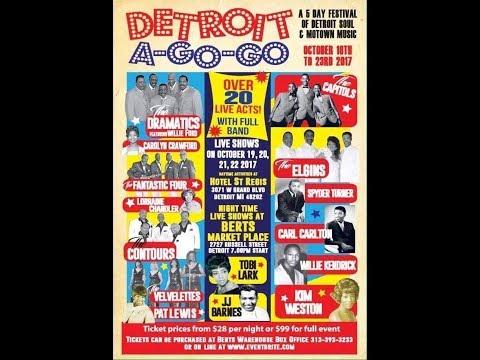 Motown Northern Soul Detroit A Go Go At Berts Entertainment Complex... Detroit, Michigan