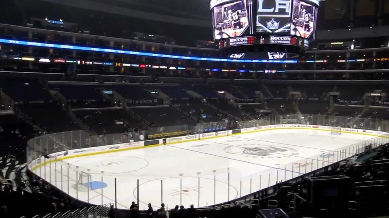 Staples Center La Kings Seating View Pr18 Youtube