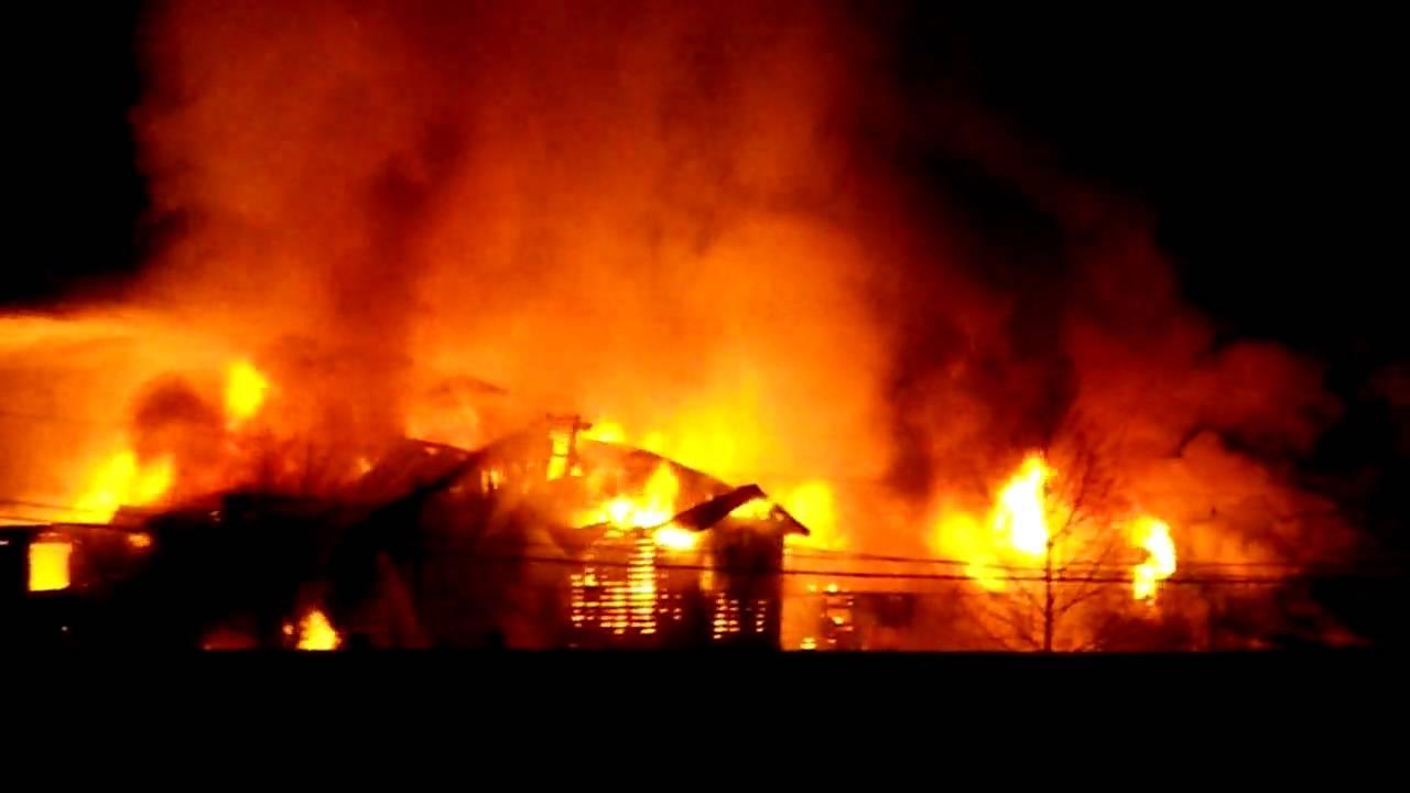 Watson Lake Hotel Fire