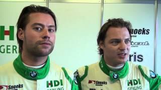 Kelvin Snoeks en Jan Joris Verheul tevreden na sterke hoofdrace