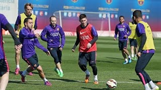 Tito vilanova field hosts final first team training session before fc barcelona-almeria ---- barcelona on social media subscribe to our official channel h...