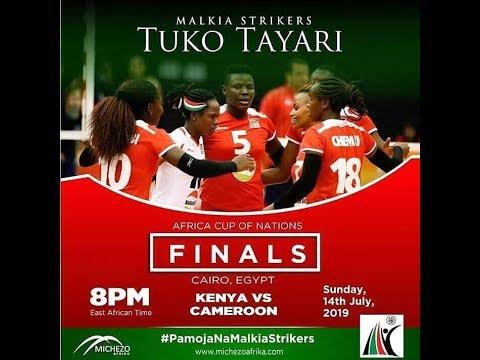 Final Cameroon v Kenya 2 019 Women's African Nations Championship