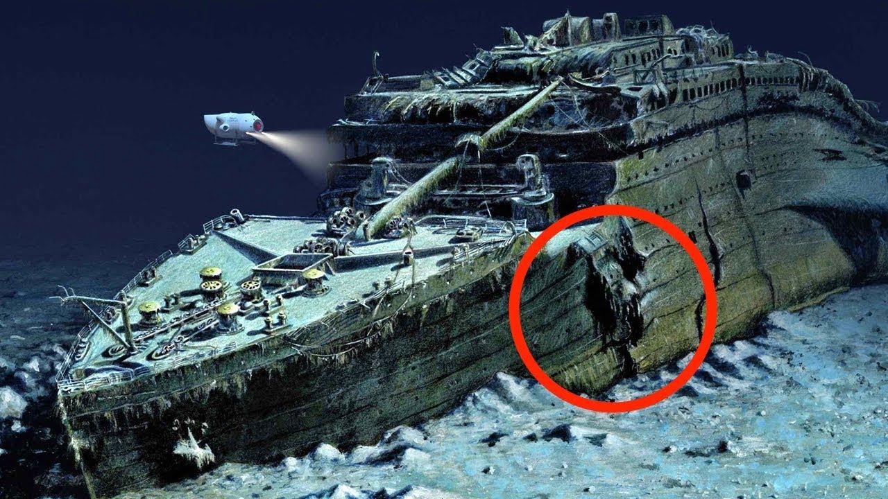 wo ist die titanic gesunken