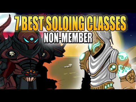 AQW-TOP 7 BEST NON-MEMBER BOSS SOLOING CLASSES IN 2020 AND HOW TO GET+ ENHANCEMENT+SKILL COMBO GUIDE