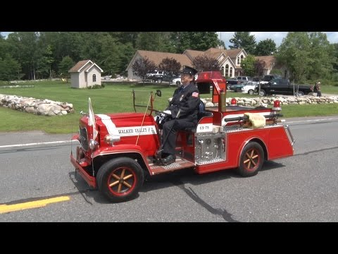 Walker Valley Chemical Engine Company 1 - 100th Anniversary Parade
