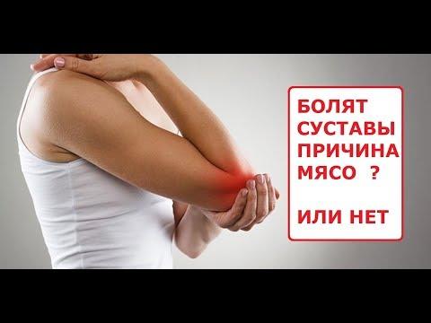 Отказ от мяса болят суставы