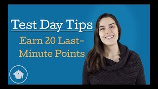 GMAT Test Day Tips — Earn 20 Easy Points Last-Minute