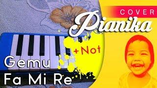 Cover Pianika/Melodika Lagu Gemu Fa Mi Re Dengan Notnya