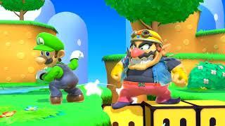 Super Smash Bros. Ultimate Title Screen (Switch)