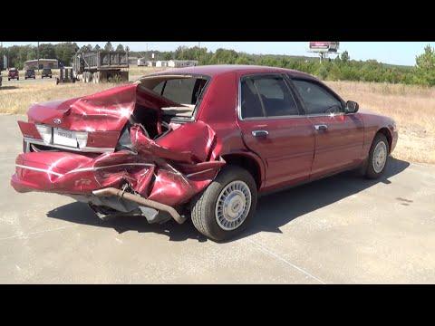 Wrecked Ford Crown Victoria Walkaround