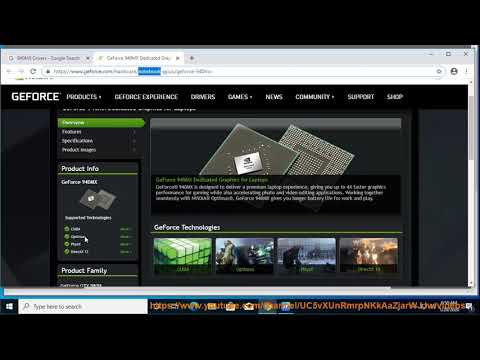 Download NVIDIA GeForce 940MX Drivers On Windows 10