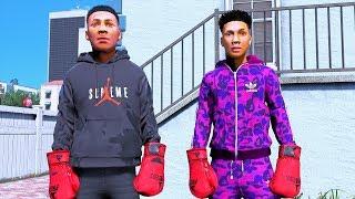 NLE CHOPPA VS NBA YOUNGBOY (REAL LIFE MOD)