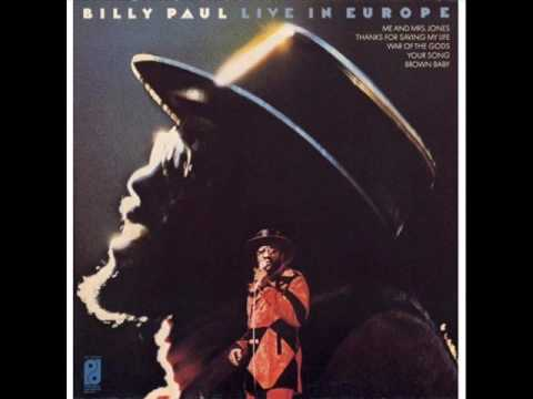 Billy Paul Me and MRS Jones Live 1973.
