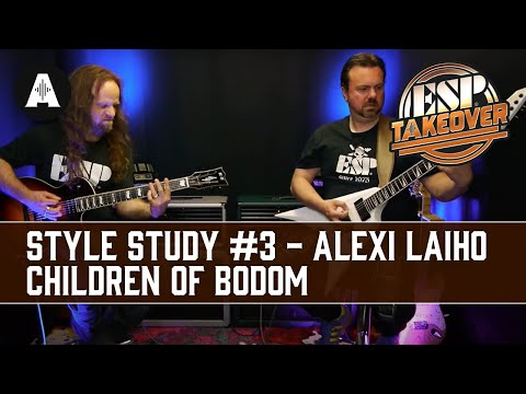 Style Study #3 - Alexi Laiho (Children of Bodom) | ESP Social Takeover Weekend