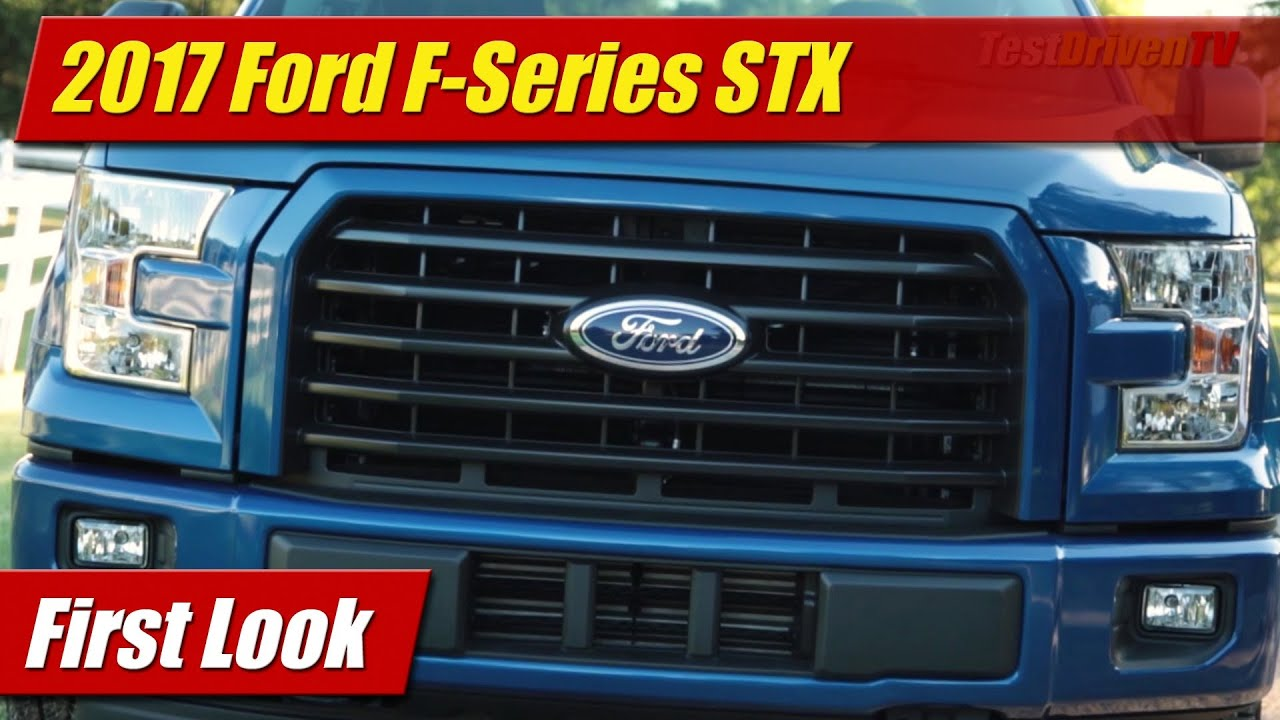2017 ford f series stx first look youtube. Black Bedroom Furniture Sets. Home Design Ideas
