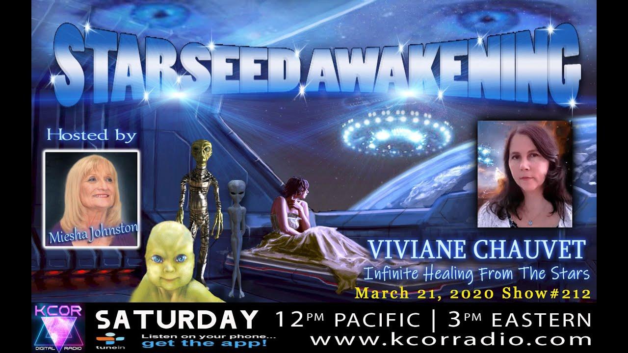 Starseed Awakening Miesha Johnston - Viviane Chauvet
