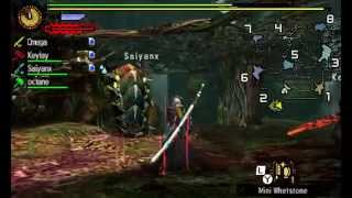 Monster Hunter 4 Ultimate - Online Quests 14: Seltas Queen's Royal Guard