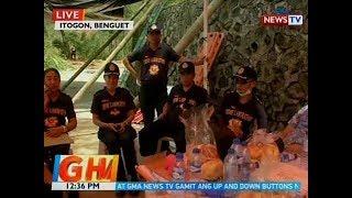 BT: Search and retrieval operations sa Itogon, nagpapatuloy