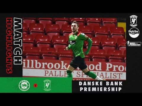 Larne Glentoran Goals And Highlights