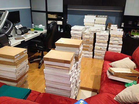 25000 Cards Scanned In 8h By Grandpa Scanning Sports Cards