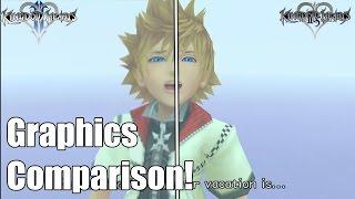 Graphics Comparison: Kingdom Hearts HD 2.5 ReMIX vs Originals (KH2 and BBS)