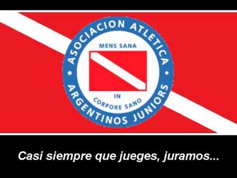 Himno de Argentinos Juniors