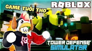 "CHILDHOOD ""PLAYER"" TITLE IN TOWER DEFENSE SIMULATOR (Roblox)"