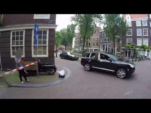Amsterdam: Shooting The Hitman's Bodyguard movie. Gopro Hero 4.