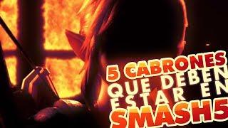 TOP 5: Personajes que TIENEN que estar en Smash Bros 5