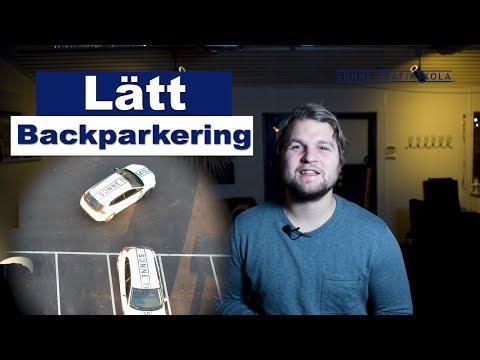 Lättaste backpakeringen 45 greder parkering!